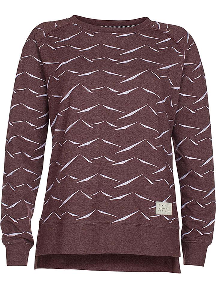 Zimtstern Sweatshirt Zharon in Bordeaux - 48% | Größe XS Damenpullover 17569246 jetztbilligerkaufen.de