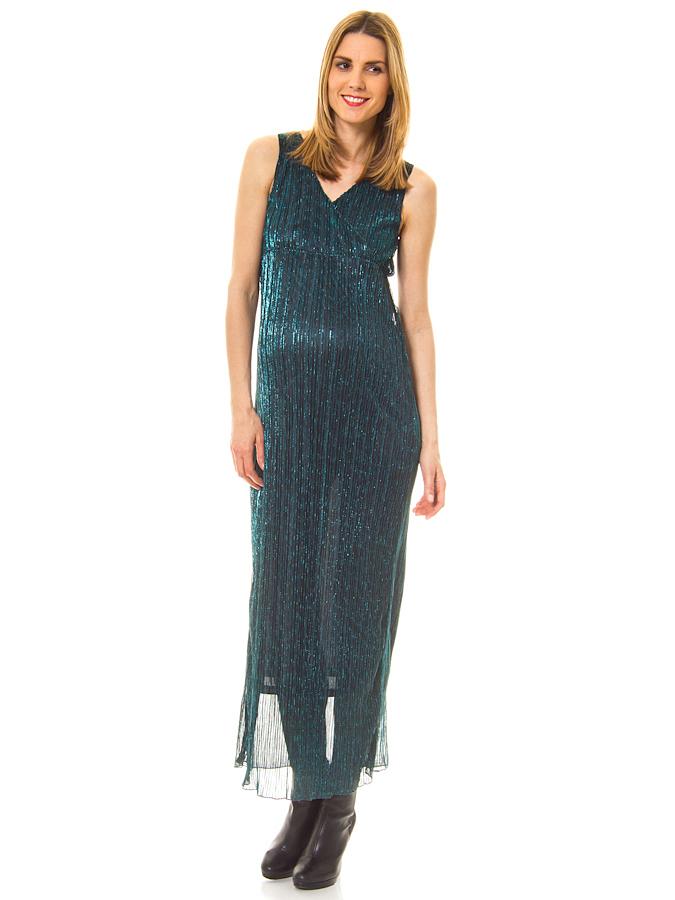 Mama licious Kleid ´´Deanna´´ in Petrol -32% | Größe XL Umstandskleider