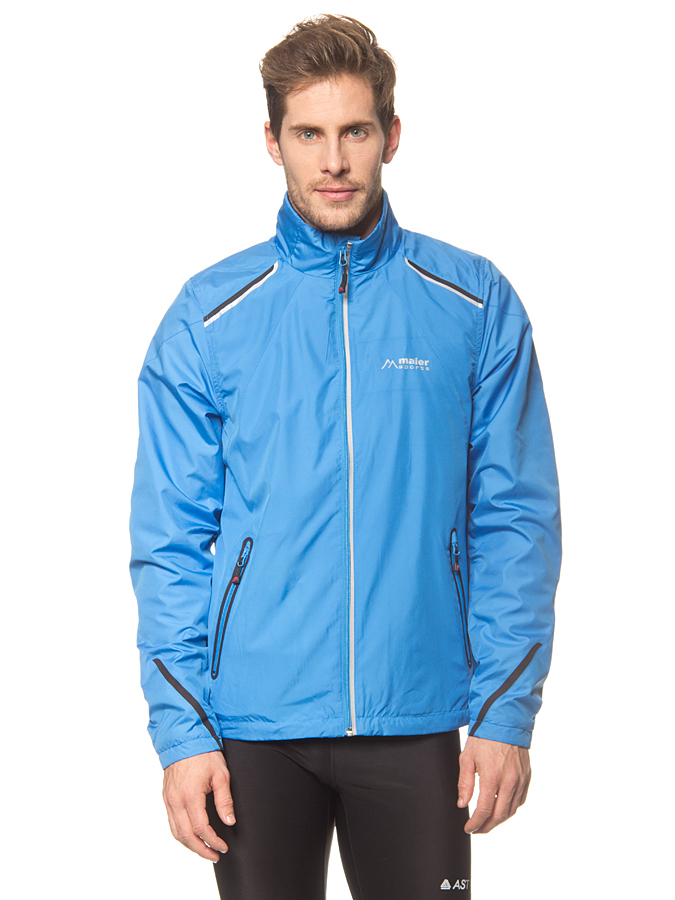 Maier Sports Funktionsjacke ´´Graswang´´ in Blau - 65% | Größe 68 Herrenjacken