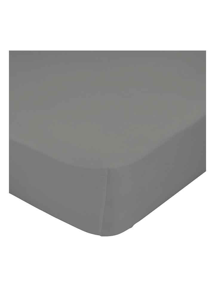 HF LIVING Spannbettlaken in Dunkelgrau -8%   Größe 70x140 cm Bettwäsche Sale Angebote Wiesengrund