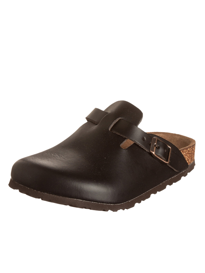 "Birkenstock Leder-Clogs ""Boston"""
