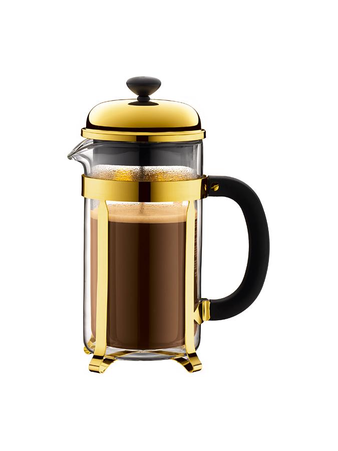 "Bodum Kaffeebereiter ""Chambord"" in gold - 1 l -59% | Kaffee"