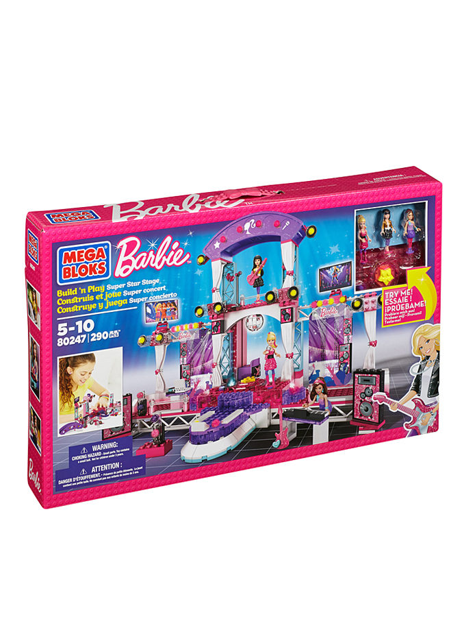 Hermanex Barbie - Super Star Stage - ab 4 Jahren -64% | Figuren