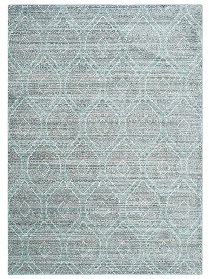 Mhochdrei Woll Teppich BIG Star in Blau 57 Groesse 160×230