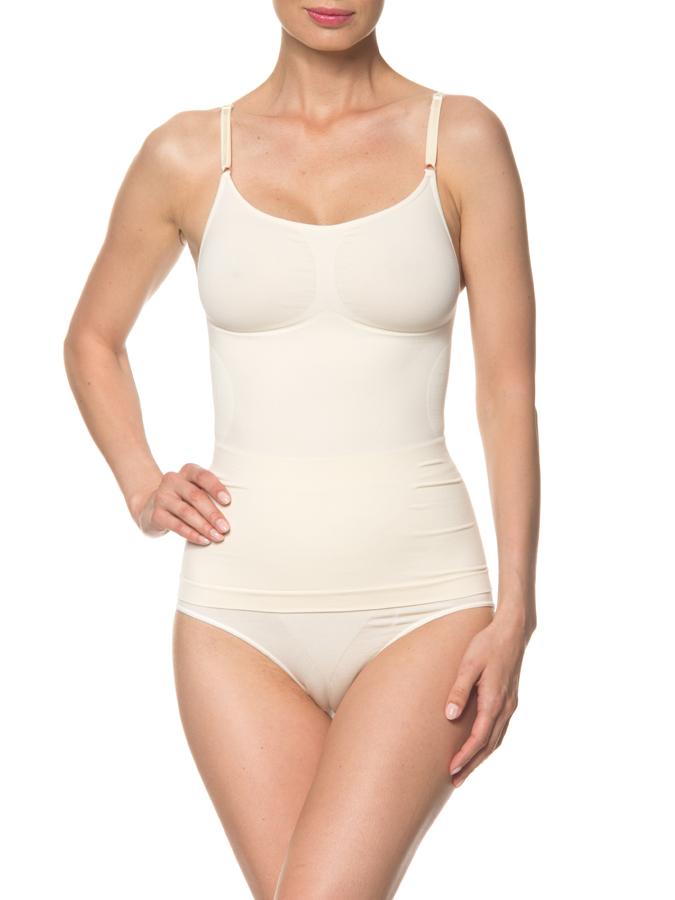 Belly Cloud Shape-Top in Creme -63% | Größe 3XL Hemdchen Sale Angebote