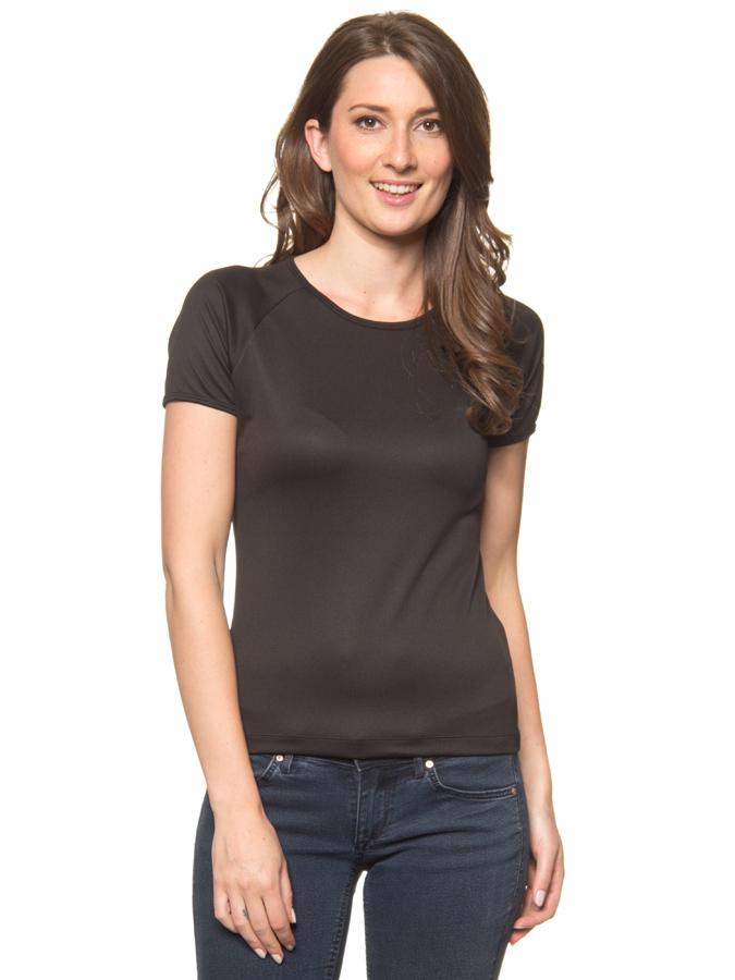 Salewa Funktionsshirt ´´Sporty´´ in Schwarz - 57% | Größe 40 Damen tops