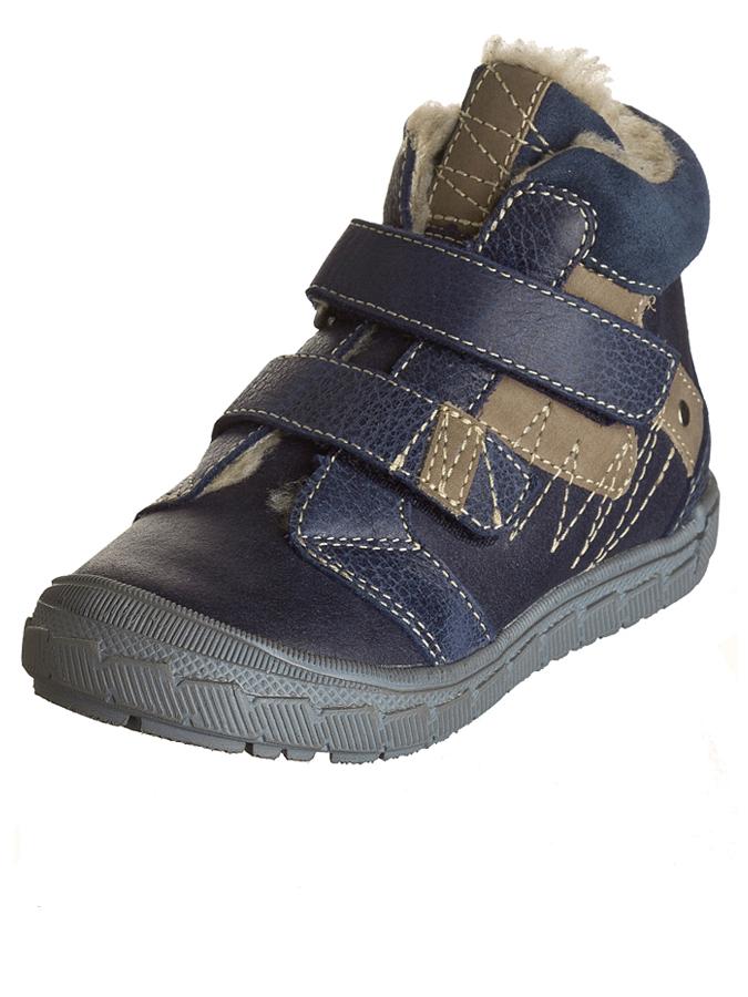 Minibel Leder-Sneakers ´´Joshualim´´ in dunkelblau -61% | Größe 28 Halbschuhe Sale Angebote Türkendorf