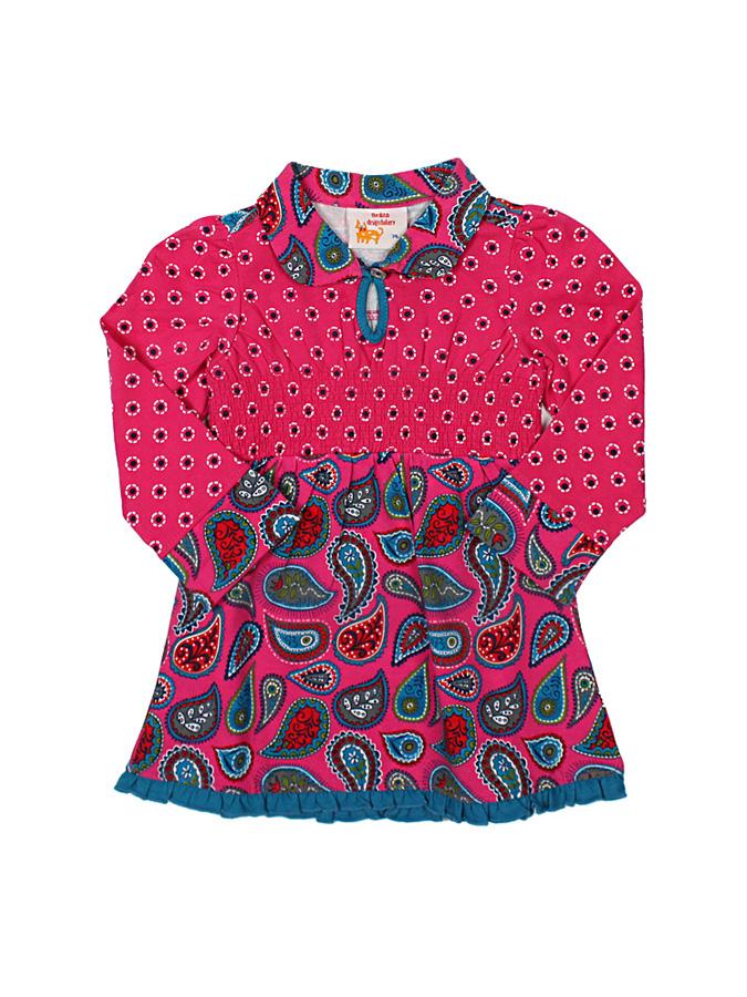 Dutch Bakery Kleid in pink/ Petrol -58% | Größe 80 Kurze Kleider Sale Angebote Gastrose-Kerkwitz