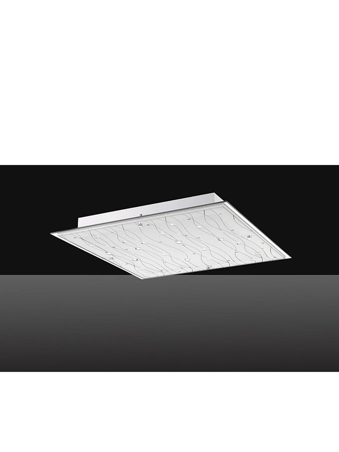 Sorpetaler Leuchten LED-Deckenleuchte ´´Dragonera´´ in Weiß - EEK A (B)52,5 x (T)52,5 cm -64% | Lampen