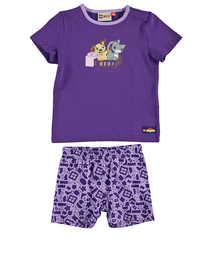 Legowear Pyjama ´´Naja 703´´ in Lila - 65 Größe 74 Baby waesche