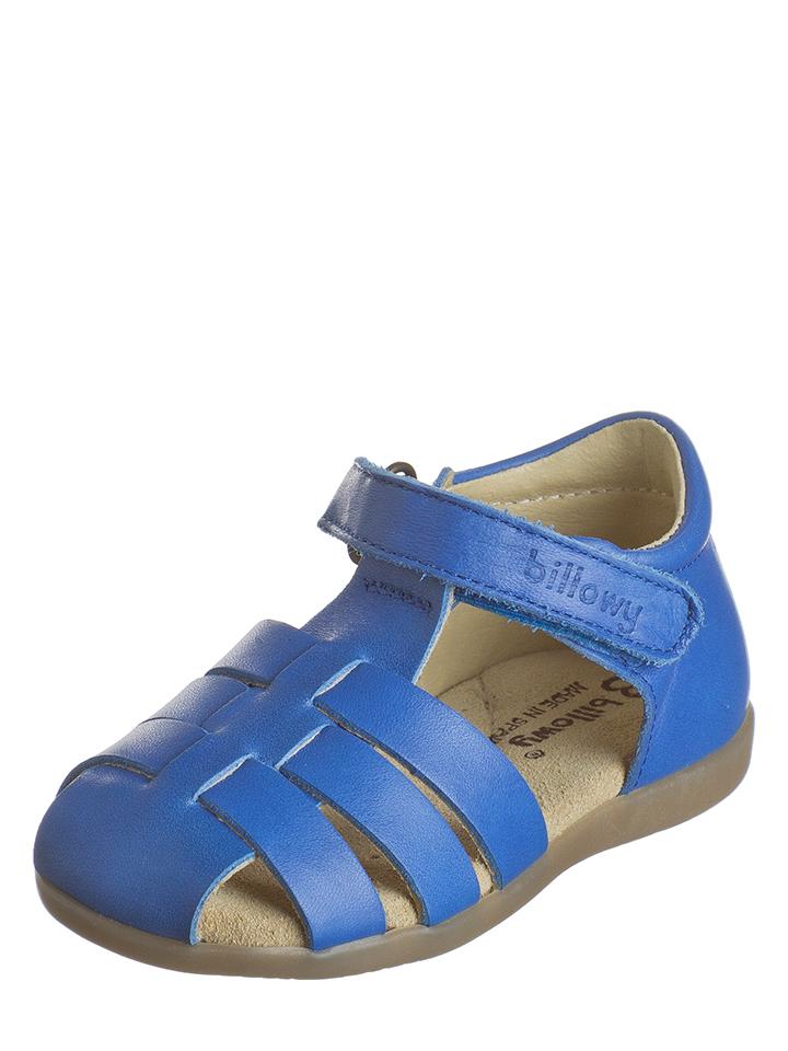 Billowy Leder-Halbsandalen in Blau - 59% | Größe 21 Babysandalen jetztbilligerkaufen