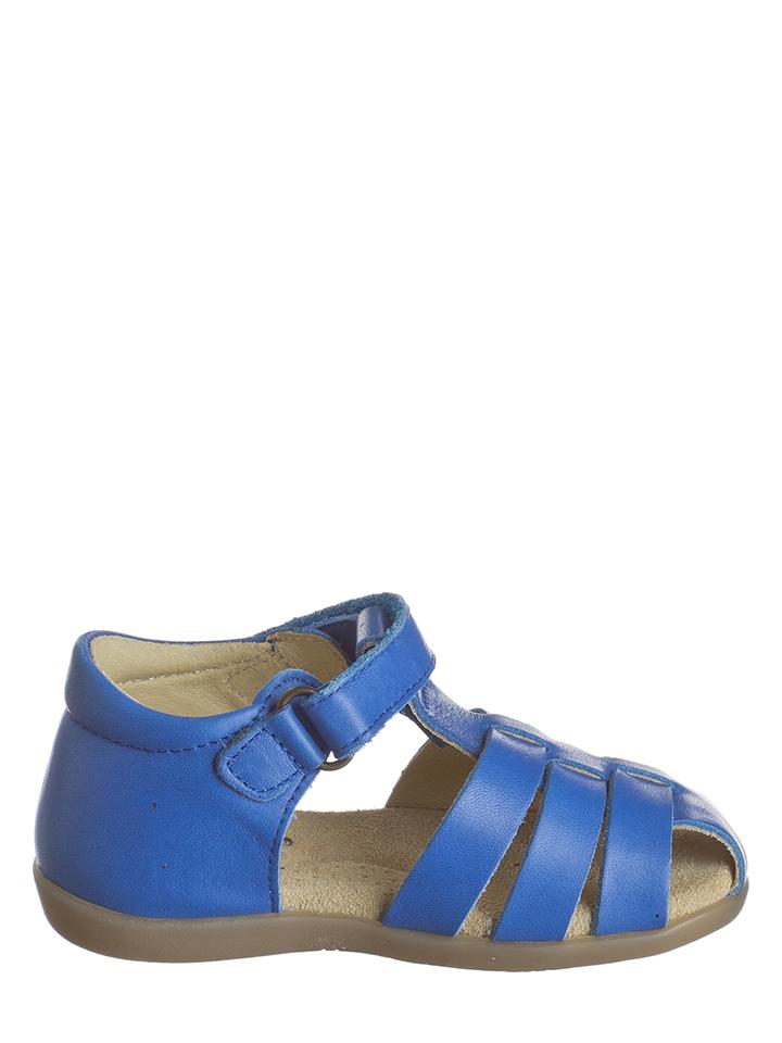 Billowy Leder-Halbsandalen in Blau -49% | Größe 21 Sandalen
