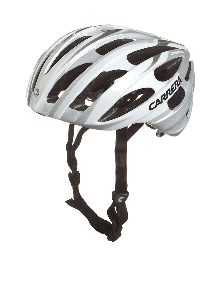 Carrera Fahrradhelm ´´Razor-X-Press´´ in Silber - 58%   Größe 54-57 cm Damen sportausruestung