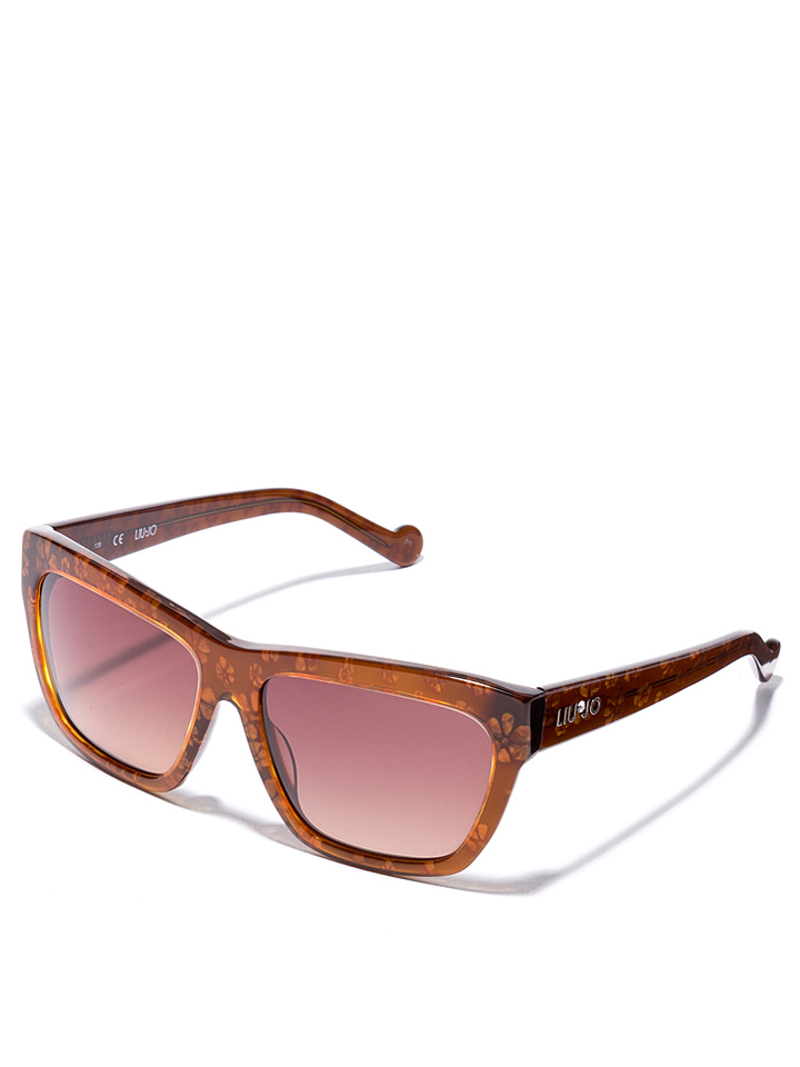 Liu Jo Damen-Sonnenbrille in Braun -49 Größe 57 Sonnenbrillen
