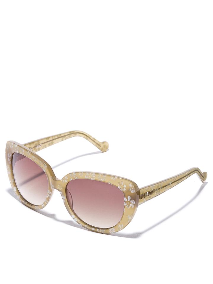 Liu Jo Damen-Sonnenbrille in beige -49 Größe 54 Sonnenbrillen
