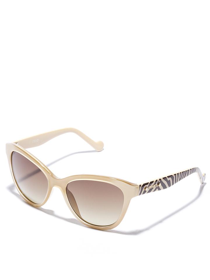 Liu Jo Damen-Sonnenbrille in creme -51 Größe 55 Sonnenbrillen