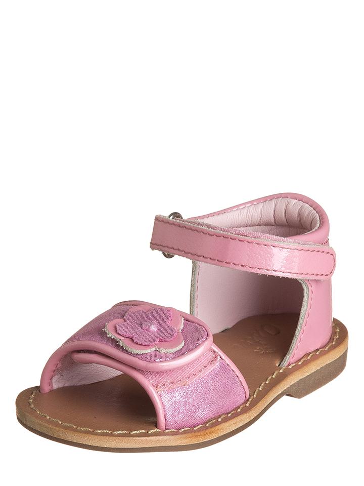 Aster Leder-Sandalen ´´Visine´´ in Pink - 64% | Größe 20 Babysandalen