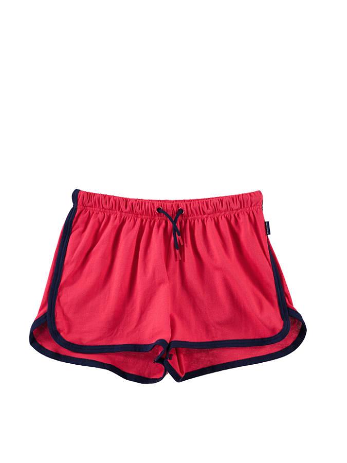 Schiesser 2er-Set Pyjamashorts in Rot -63 Größe 140 Pyjamas