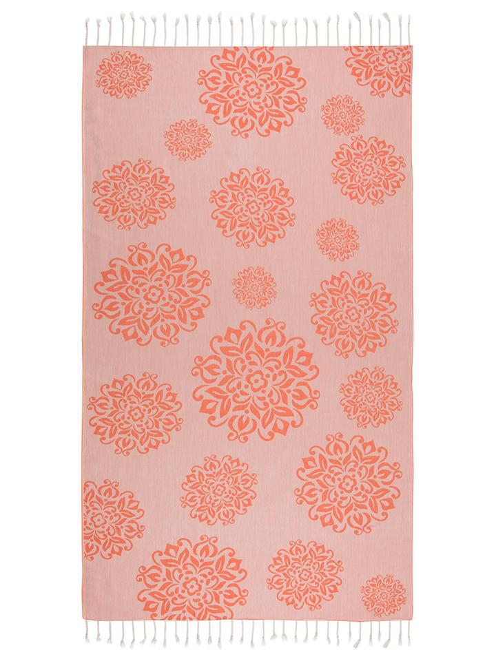 Begonville Strandtuch ´´Bamboo Collection´´ in orange -55% | Größe 95x180 cm Badetücher