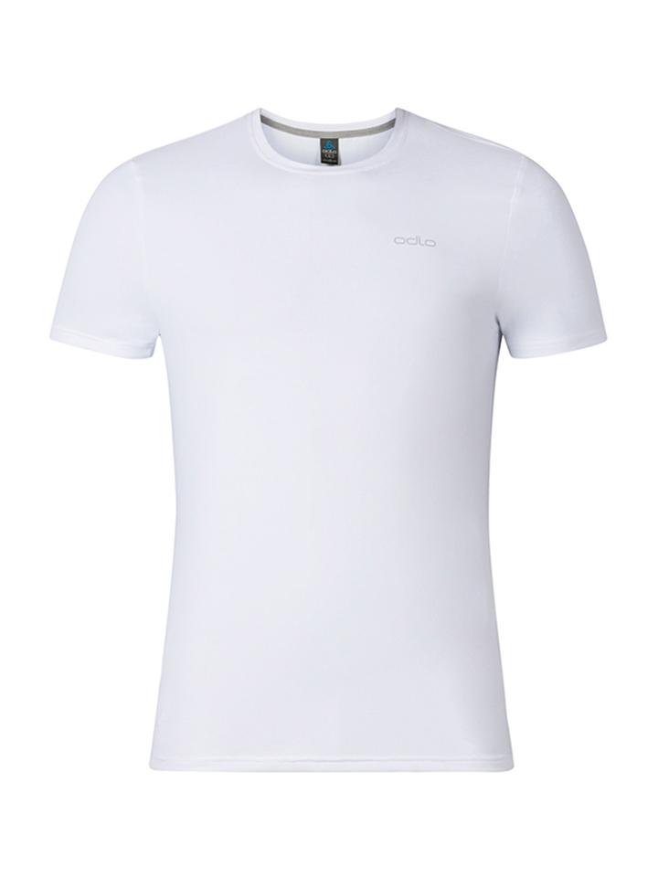 Odlo Funktionsshirt ´´Sillian´´ in Weiß -46%   Größe S T-Shirts Sale Angebote Gastrose-Kerkwitz