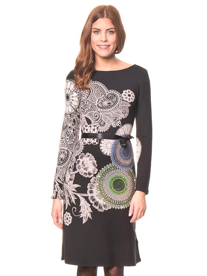 Desigual Kleid ´´Anais´´ in schwarz -37% | Größe XXL Kleider Sale Angebote Bagenz