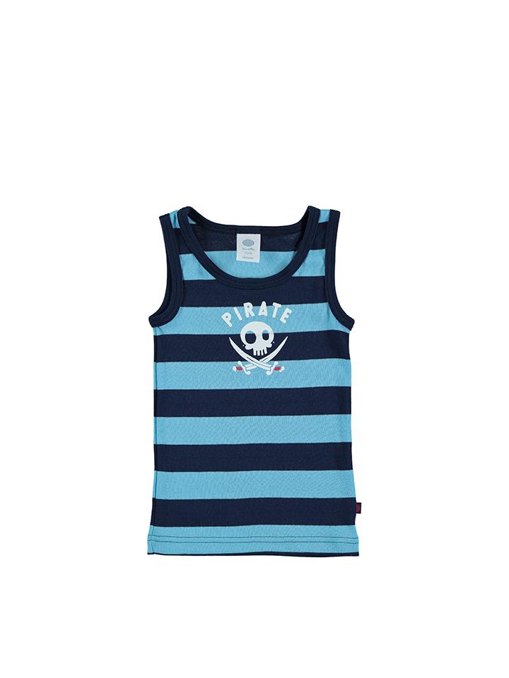 Sanetta Unterhemd in Dunkelblau -69 Größe 92 Hemdchen