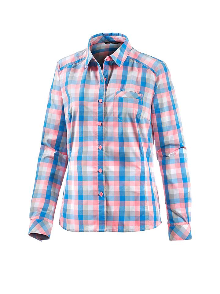 The North Face Funktionsbluse ´´Zion´´ in Blau - 46%   Größe M Damen blusen jetztbilligerkaufen