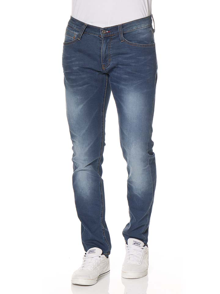 Mustang Jeans ´´Oregon´´ - Slim fit in Blau -68% | Größe W35/L34