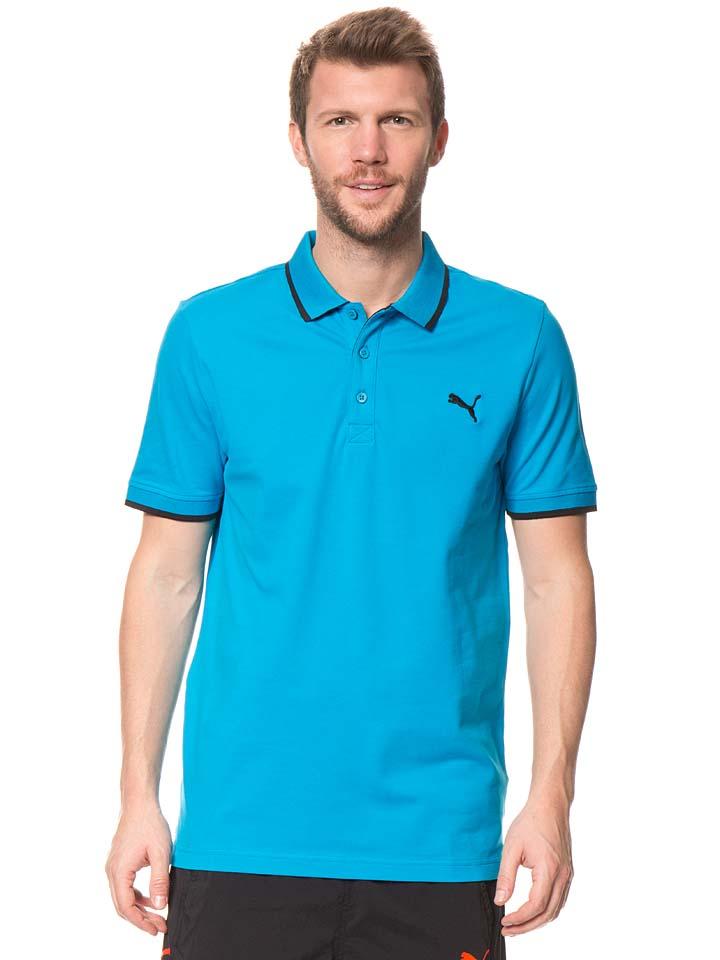 Puma Funktionsshirt ´´Fun Dry´´ in Türkis -61% | Größe S Kurzarm Poloshirts Sale Angebote Horka