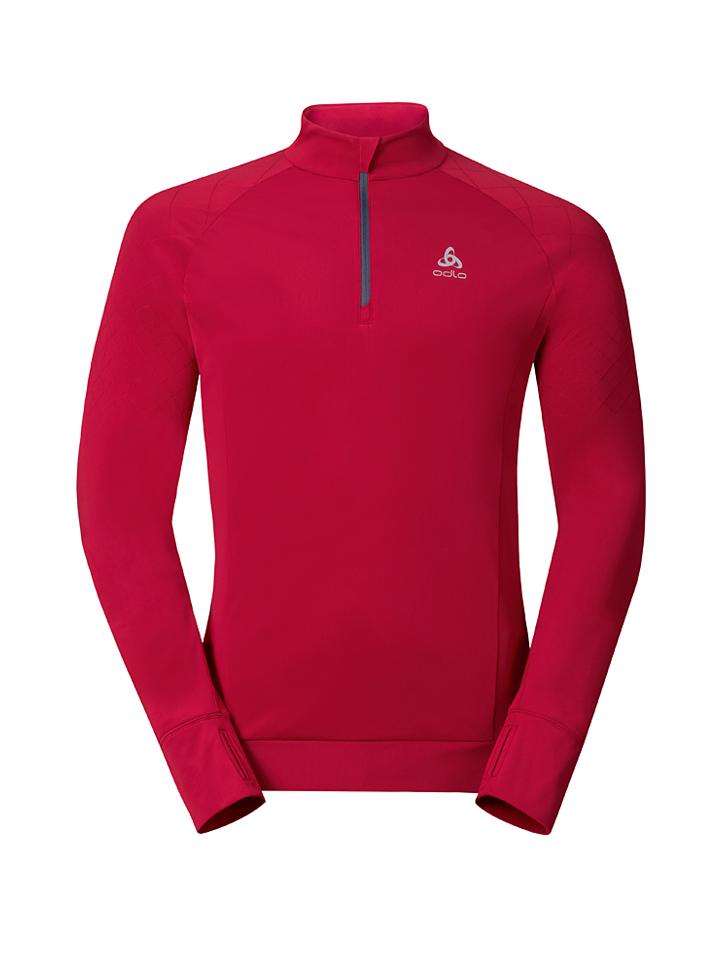 Odlo Funktionstroyer ´´Apodis´´ in Rot -66% | Größe S Pullover Sale Angebote Schwarzheide