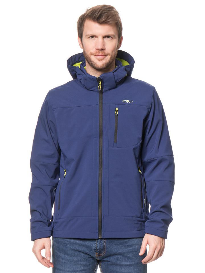 CMP Softshelljacke in Dunkelblau -51% | Größe 60 Softshell Jacken Sale Angebote Tettau
