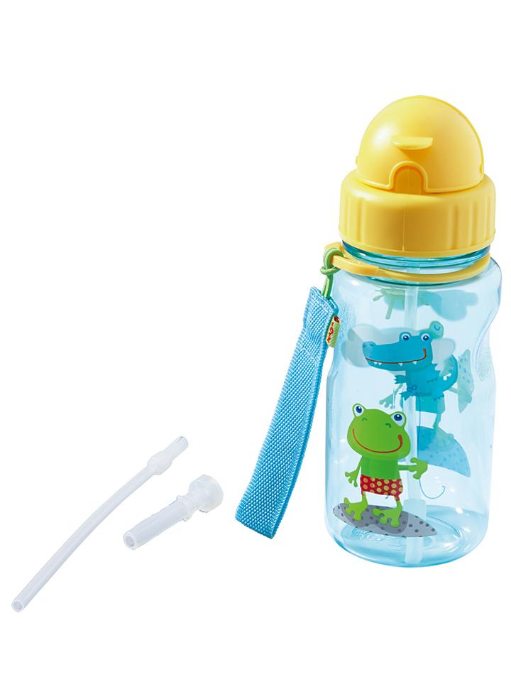 Haba Trinkflasche Frosch Fabi in Hellblau - 400 ml -13% | Trinkflaschen