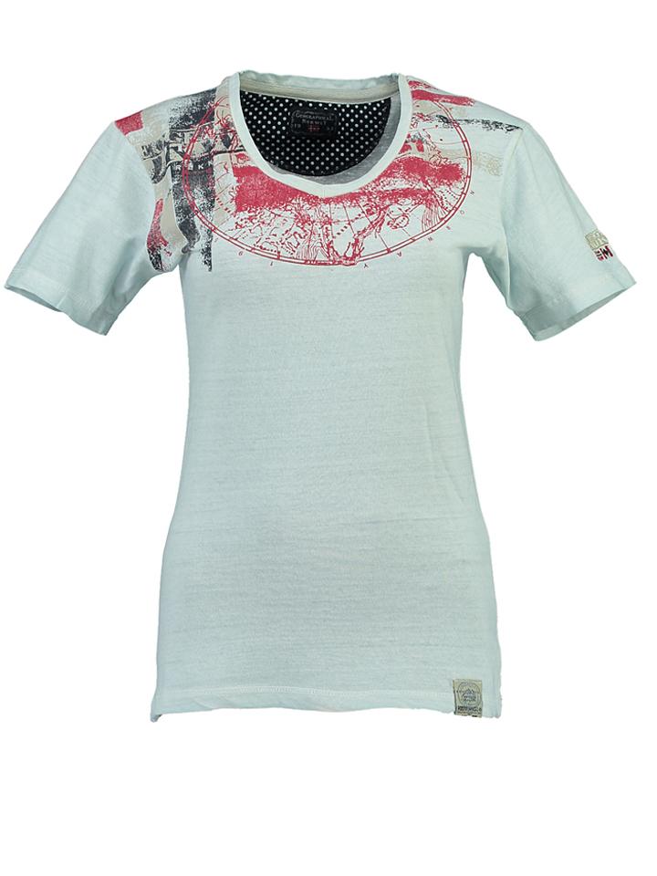 Geographical Norway Shirt ´´Jasmine´´ in Hellblau - 61% | Größe XXL Damen tops