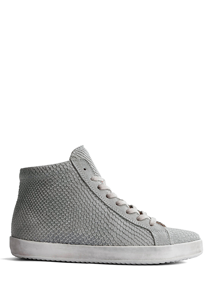 TRAVELIN´ Leder-Sneakers ´´Royan Suede´´ in Grau - 67% | Größe 40 Damen sneakers