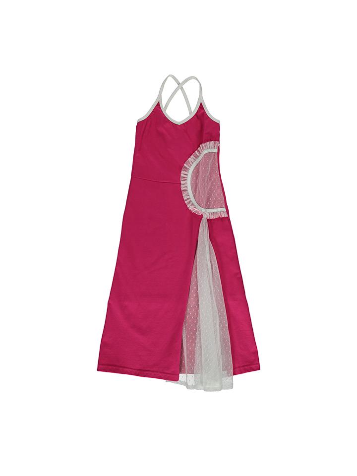 Lofff Kleid in fuchsia -59% | Größe 104 Kleider Sale Angebote Wiesengrund