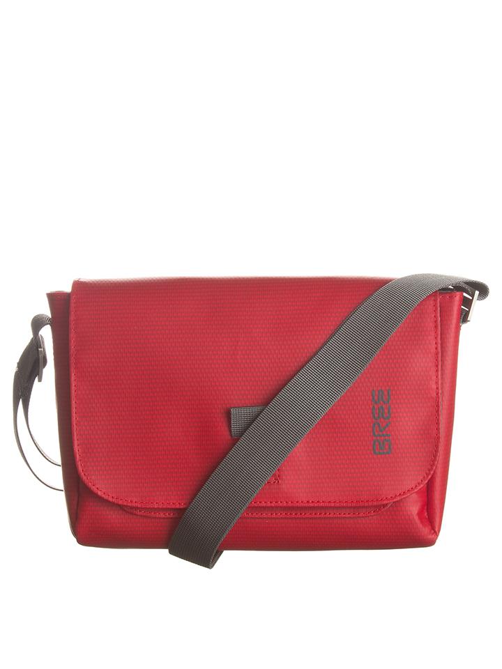 Bree Umhängetasche ´´Punch 701´´ in Rot - (B)26 x (H)19 (T)7 cm 54% | Damen taschen