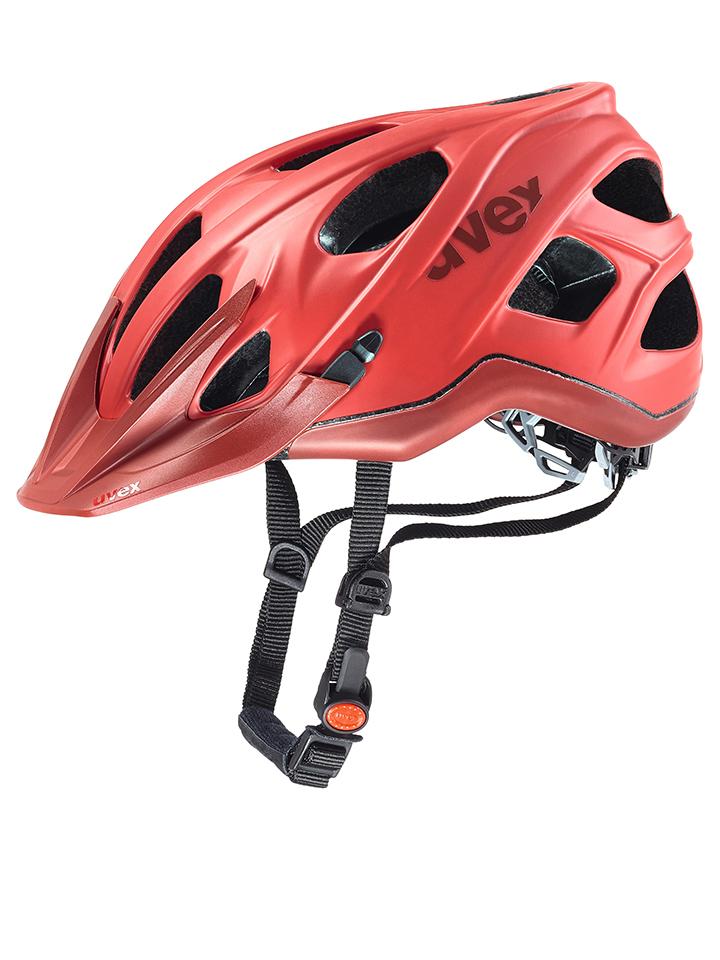 Uvex Fahrradhelm ´´stiva cc´´ in Rot - 53% | Größe 52-57 cm Damen sportausruestung
