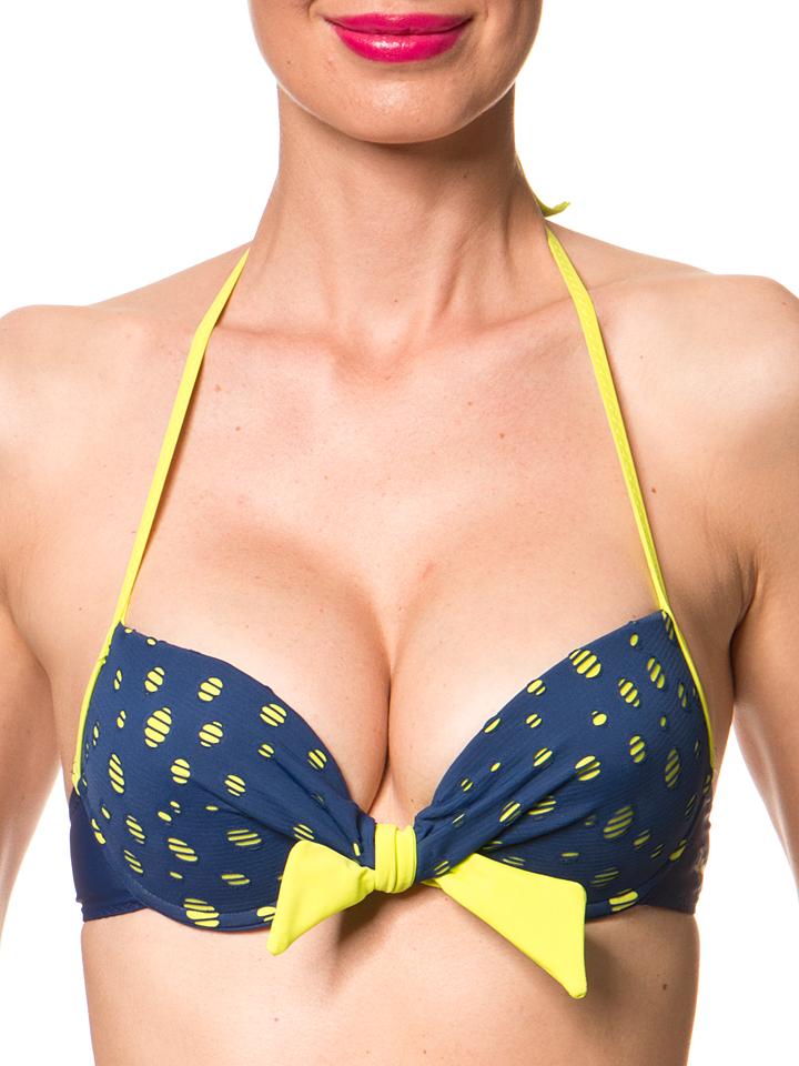 Ipanema Bikini-Oberteil ´´Beat´´ in Dunkelblau -69% | Größe 34C-Cup Bikini Sale Angebote Dissen-Striesow