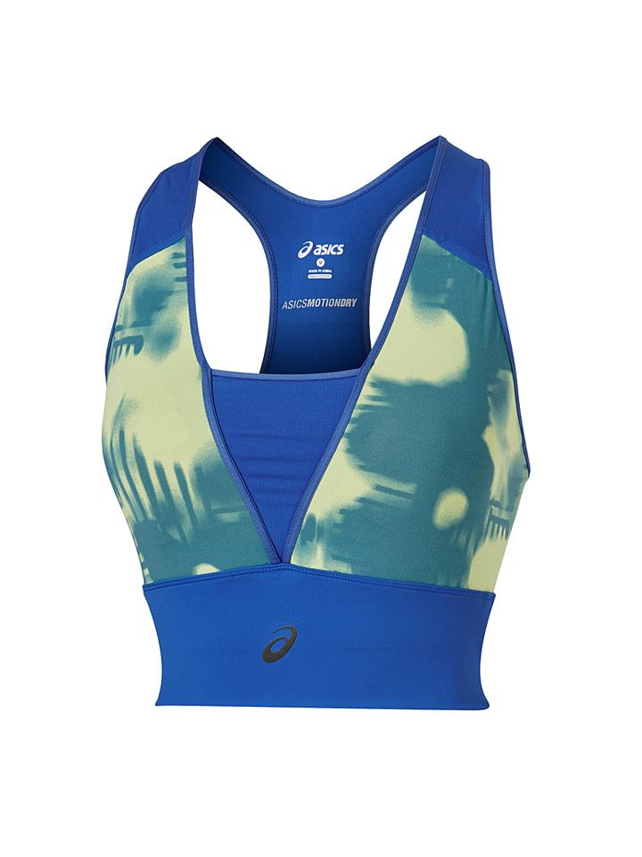 Asics Sport-Bustier in Blau - 62% | Größe L Damenwaesche