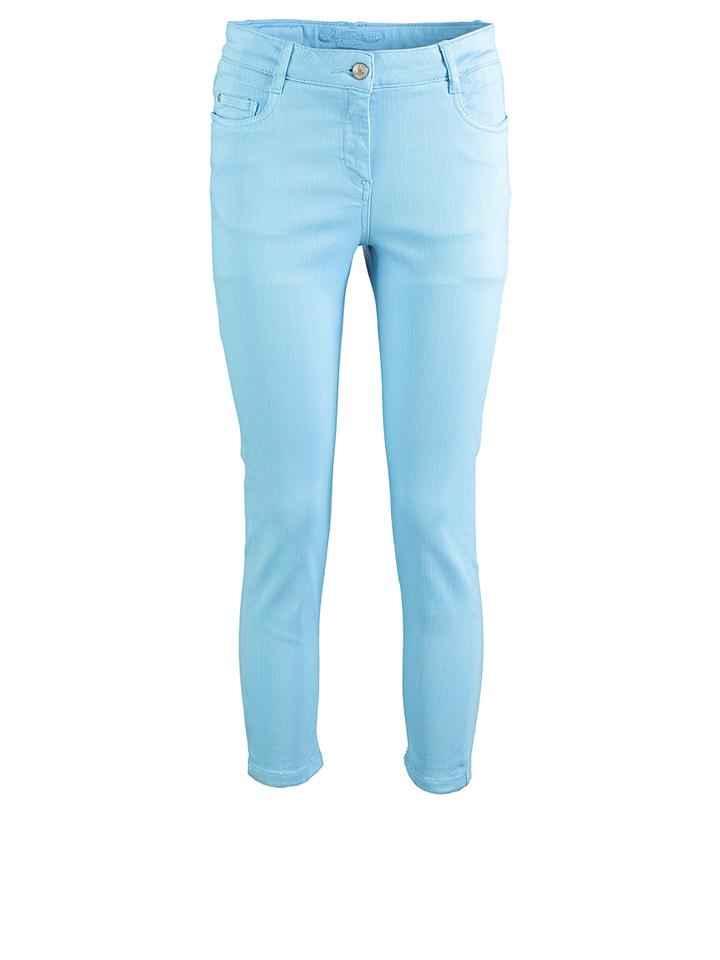 Deerberg Hose ´´Tabby´´ in Blau - 72% | Größe 46 Damenhosen