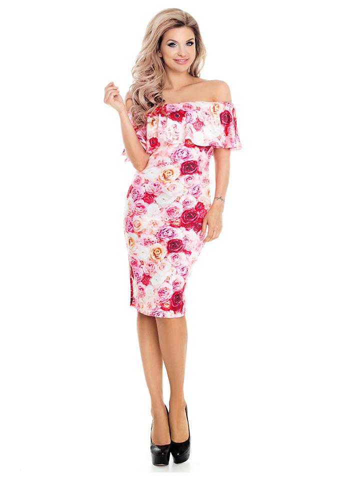 Guteborn Angebote Numoco Kleid in Rosa - 74% | Größe XS Damen kleider