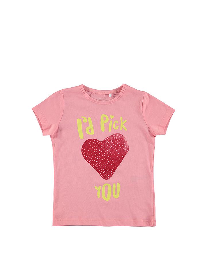 Name it Shirt ´´Veenki´´ in Rosa -37% | Größe 158/164 T-Shirts Sale Angebote