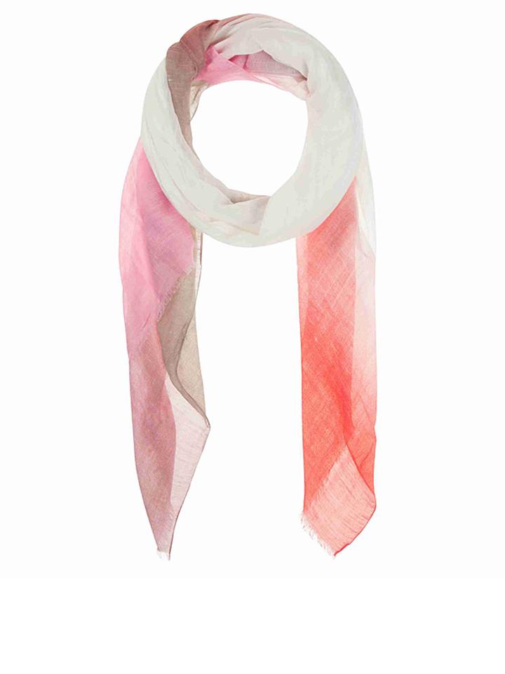 Codello Schal mit Modal- und Leinenanteil in rot - (L)170 x (B)90 cm -54%   Schals Sale Angebote Wiesengrund