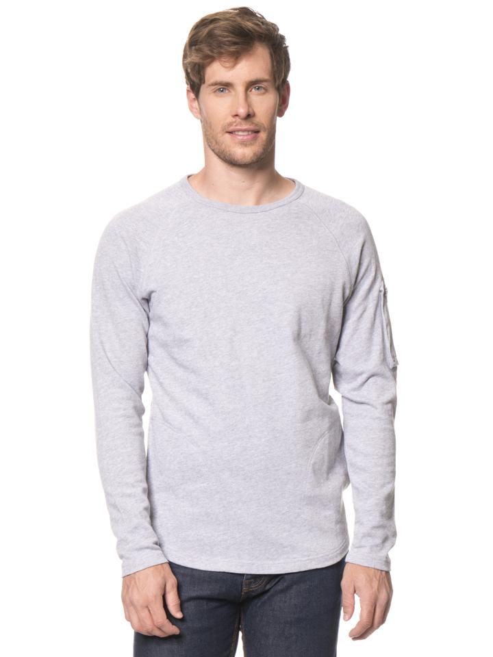 Reef Pullover ´´Crew´´ in Hellgrau - 62% | Größe L Herren pullover strick