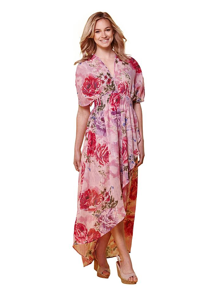 Yumi Kleid in rosa -76% | Größe 34 Lange Kleider Sale Angebote Dissen-Striesow