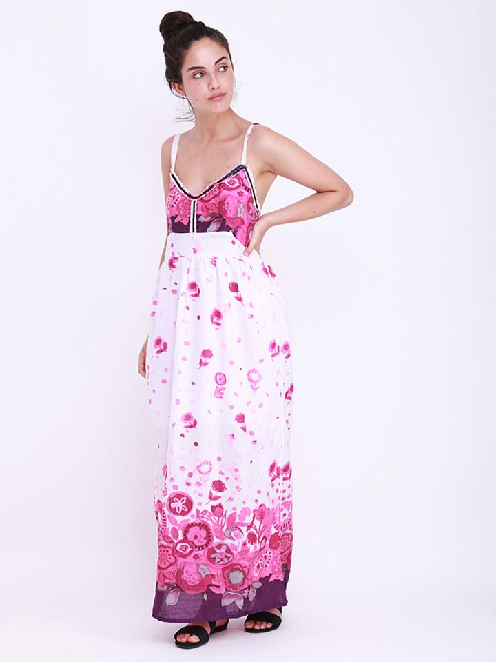 Anmol Kleid in Weiß - 63%   Größe 34-42 Damen kleider