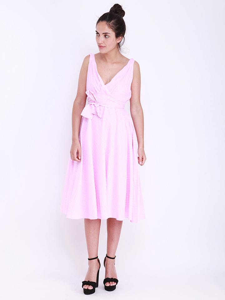 Kushi Kleid in rosa -66% | Größe 38 Kleider Sale Angebote Hermsdorf
