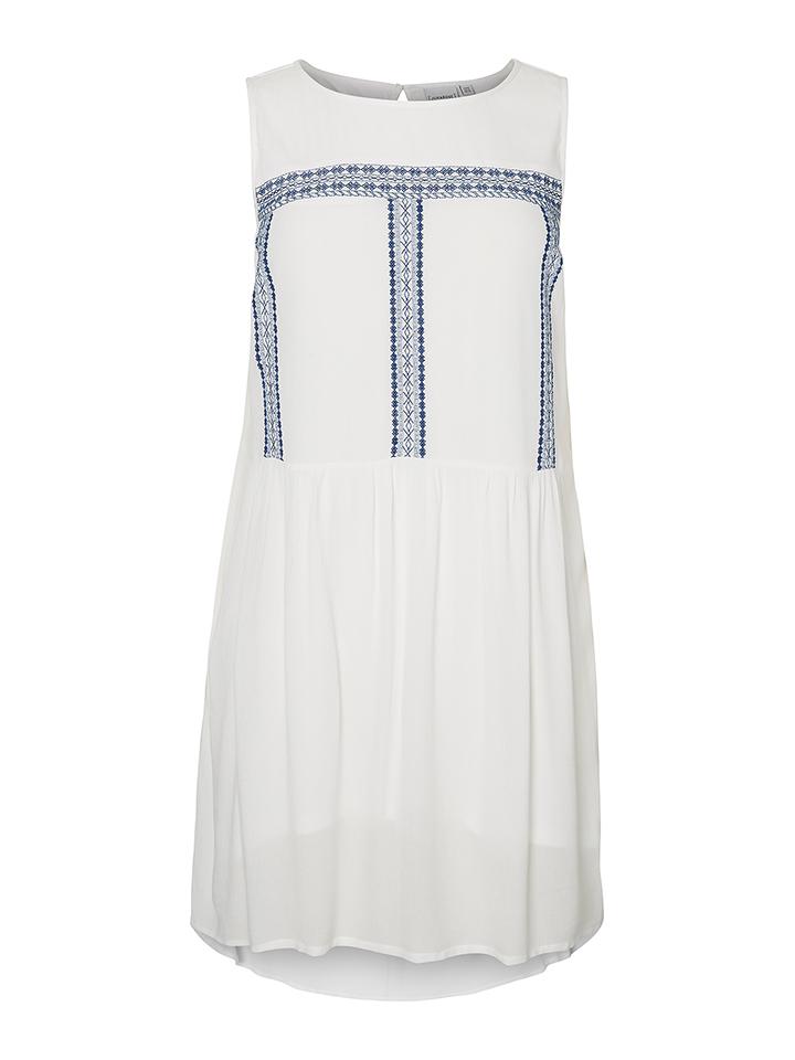 JUNAROSE Kleid ´´Karlie´´ in Weiß -53% | Größe 50 Kleider Sale Angebote Bagenz