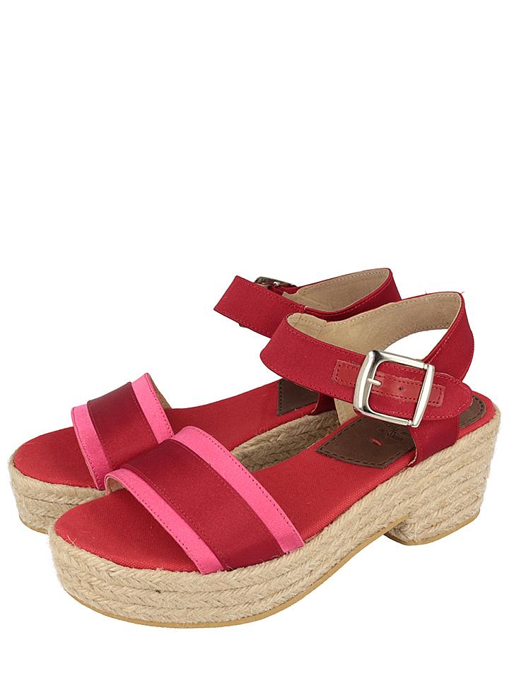 Gioseppo Sandaletten Zuccale in rot -69% | Größe 36 | Hohe Sandaletten