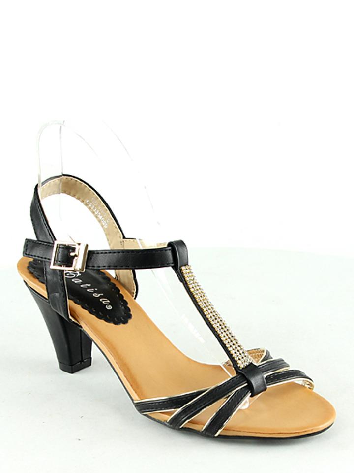 Catisa Sandaletten in Schwarz - 67% | Größe 37 | Damen sandalen
